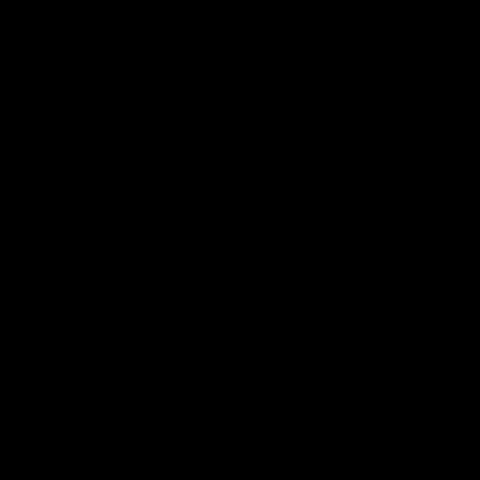 Icon representing biohazard